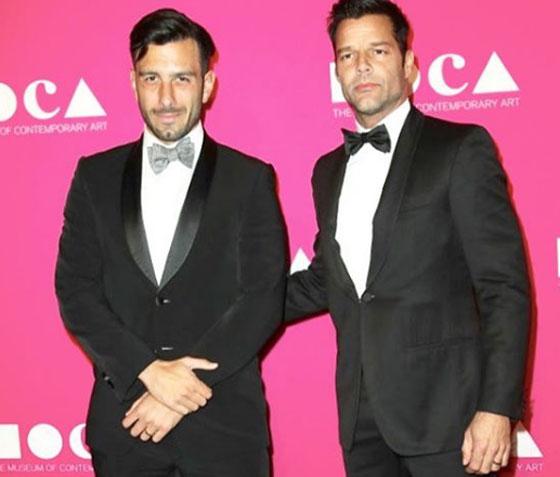 صورة رقم 3 - ريكي مارتن لمنتقدي خطيبه السوري بسبب علاقتهما المثلية: (خلص)!