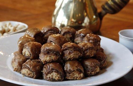 صورة رقم 5 - وصفة لتحضير البقلاوة بالشوكولاتة الشهية