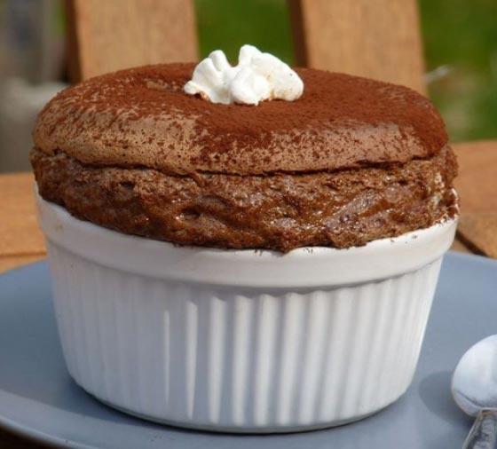 اليكم وصفة سوفليه كيك الشوكولاتة الشهية صورة رقم 1
