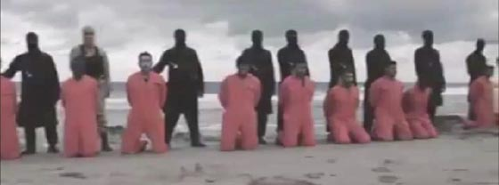 صورة رقم 3 - بالفيديو.. ذباح الاقباط في ليبيا يظهر لأول مرة