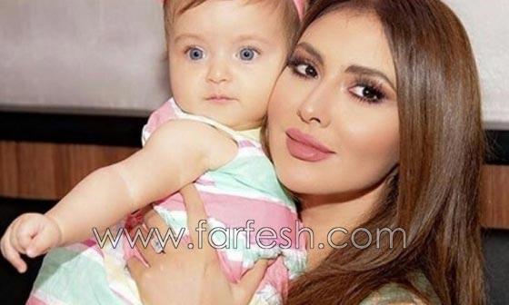 هل هذه الطفلة الشقراء ذات العينين الزرقاوين هي ابنة مريم حسين؟ صورة رقم 3