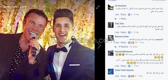 صورة رقم 2 - لقطات مثيرة من زفاف (توتا): رقص  شيماء، كشرة اسراء وقميص الهضبة!