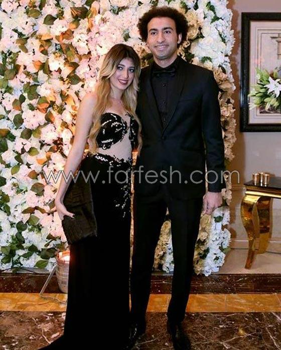 صورة رقم 5 - لقطات مثيرة من زفاف (توتا): رقص  شيماء، كشرة اسراء وقميص الهضبة!