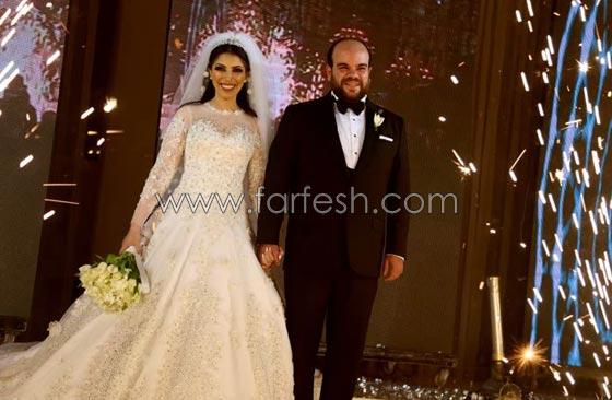 صورة رقم 1 - لقطات مثيرة من زفاف (توتا): رقص  شيماء، كشرة اسراء وقميص الهضبة!
