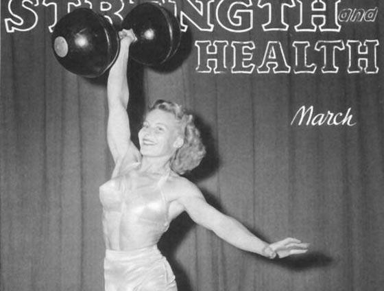 صورة رقم 9 - اقوى 10 نساء في العالم! عضلات بارزة فأين الانوثة؟