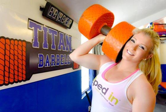 صورة رقم 5 - اقوى 10 نساء في العالم! عضلات بارزة فأين الانوثة؟