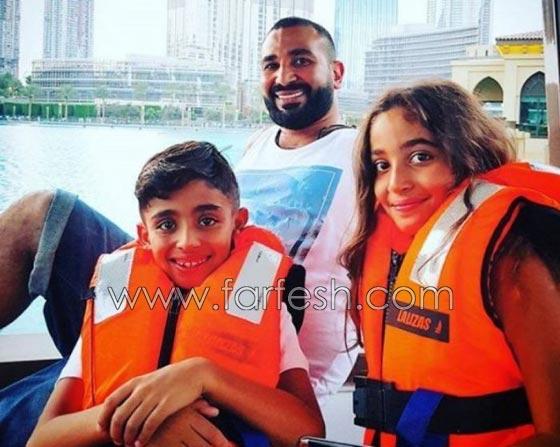 صور سمية الخشاب مع طفلي أحمد سعد تكشف حقيقة توتر العلاقة بينهم! صورة رقم 6
