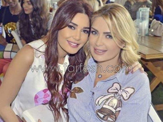 صورة رقم 2 - بالصور.. تعرفوا على شقيقات النجمات العرب ولاحظوا الشبه
