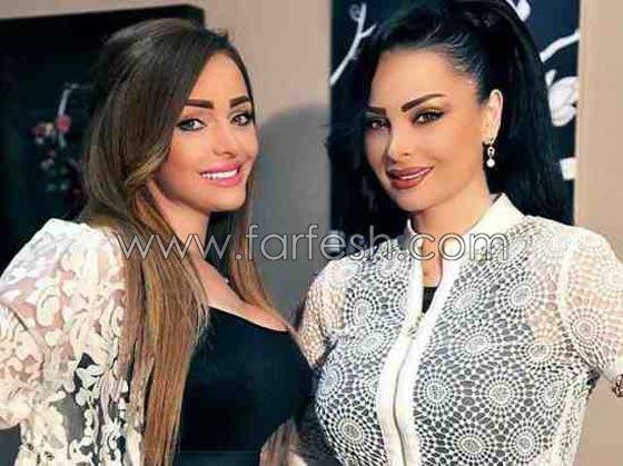 صورة رقم 3 - بالصور.. تعرفوا على شقيقات النجمات العرب ولاحظوا الشبه