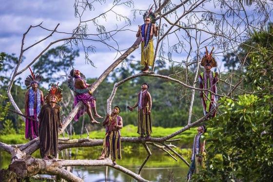 صور رائعة.. قبيلة نائية في البرازيل تعيش في انسجام تام مع الطبيعة صورة رقم 5
