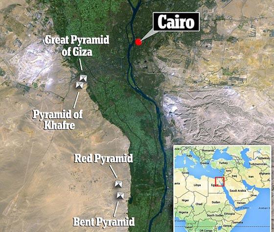 صورة رقم 6 - سر فضائي يكشف قدرة فرعون على الصعود إلى النجوم