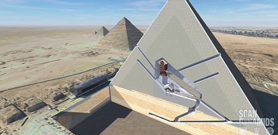 صورة رقم 5 - سر فضائي يكشف قدرة فرعون على الصعود إلى النجوم