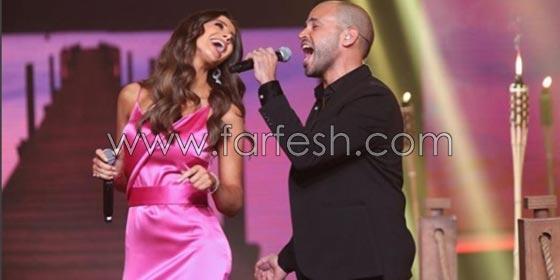 صورة رقم 1 - فيديو اللبنانية أنابيلا هلال تنافس المصرية يسرا وتغني (3 دقات) مع أبو!
