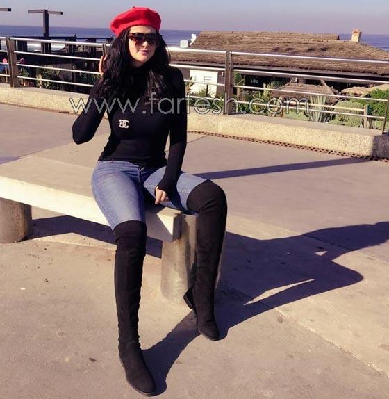 صورة رقم 8 - فيديو وصور السندريلا المغربية سلمى رشيد تثير الجدل بسروالها الضيق