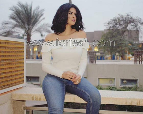 صورة رقم 6 - فيديو وصور السندريلا المغربية سلمى رشيد تثير الجدل بسروالها الضيق
