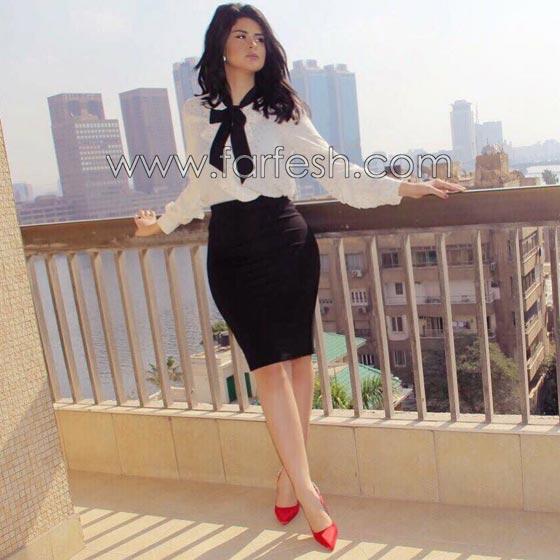 صورة رقم 7 - فيديو وصور السندريلا المغربية سلمى رشيد تثير الجدل بسروالها الضيق