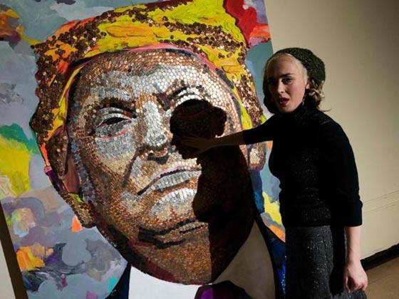 صورة رقم 5 - وجه ترامب بعملات رخيصة تثبت: المال لا يجعلك انسانا عظيما!
