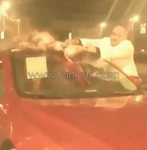 صورة رقم 1 - فيديو غريب جدا: ماذا فعل مصري في سيارته الجديدة لطرد العين والحسد؟
