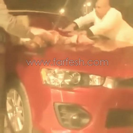 صورة رقم 5 - فيديو غريب جدا: ماذا فعل مصري في سيارته الجديدة لطرد العين والحسد؟