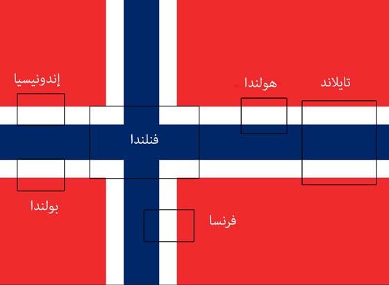 لماذا يحتوي العلم النرويجي على أعلام 6 بلدان أخرى؟ بالصور صورة رقم 1