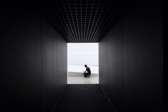 بالفيديو والصور.. المبنى الاكثر سوادا في العالم صورة رقم 4