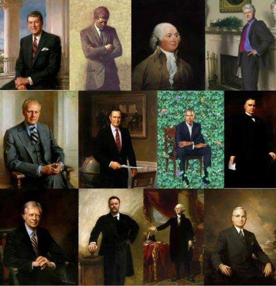 صورة رقم 8 - اوباما يسخر من شكله ويتغزل في صورة زوجته ميشيل