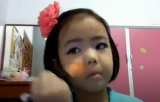فيديو وصور خبيرة تجميل محترفة بعمر الـ10 اعوام صورة رقم 1