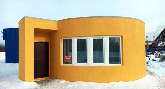 بالفيديو.. بناء منازل بتقنية الطباعة ثلاثية الأبعاد صورة رقم 1