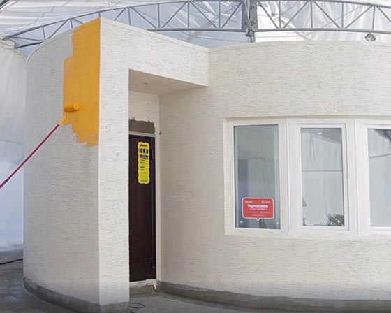 بالفيديو.. بناء منازل بتقنية الطباعة ثلاثية الأبعاد صورة رقم 2