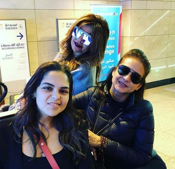 بالصور وفد من الفنانات المصريات يسافر إلى لبنان  صورة رقم 4