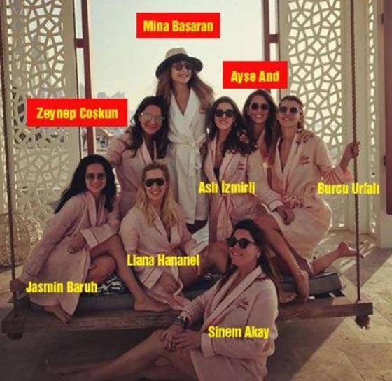 آخر صورة للفتاة الثرية وصديقاتها ضحايا الطائرة التركية المنكوبة صورة رقم 6
