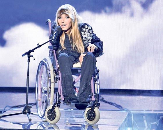 روسية من ذوي الاحتياجات الخاصة تطلق اغنيتها ليوروفيجن 2018 صورة رقم 4