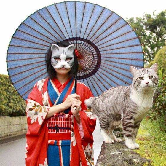 صور طريفة لمغامرات سندباد القطط حول العالم صورة رقم 1