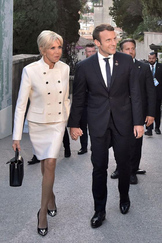 صورة رقم 3 -  الوجه الآخر لزوجة الرئيس الفرنسي ماكرون