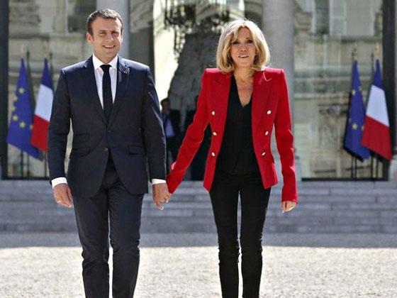 صورة رقم 4 -  الوجه الآخر لزوجة الرئيس الفرنسي ماكرون