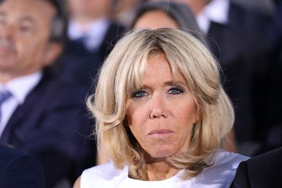 صورة رقم 6 -  الوجه الآخر لزوجة الرئيس الفرنسي ماكرون
