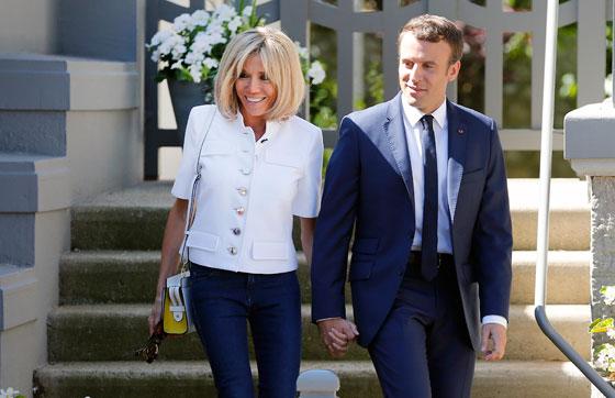 صورة رقم 8 -  الوجه الآخر لزوجة الرئيس الفرنسي ماكرون