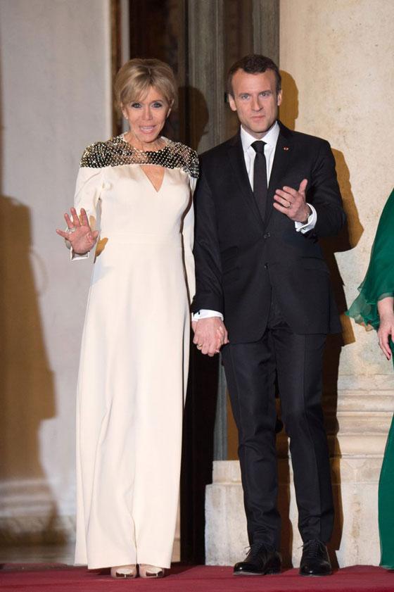 صورة رقم 10 -  الوجه الآخر لزوجة الرئيس الفرنسي ماكرون