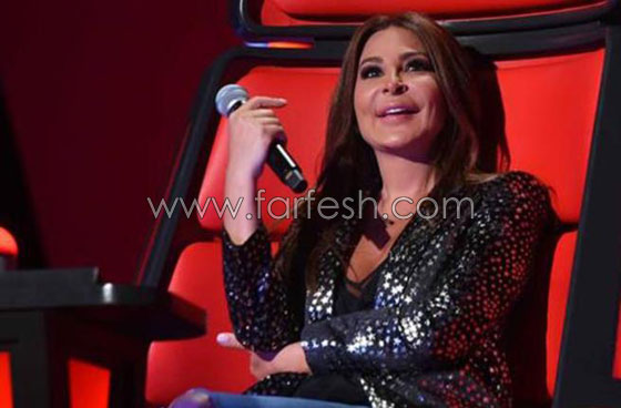 تسريب فيديو من كواليس ذا فويس: بدر آل زيدان  يعتذر من إليسا ويقبّل يدها صورة رقم 4