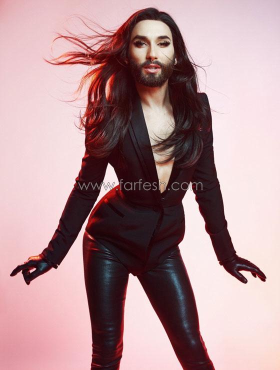 صورة رقم 2 -  المغنية الملتحية كونشيتا فورست: انا مصابة يالايدز وأتعالج منذ سنوات!