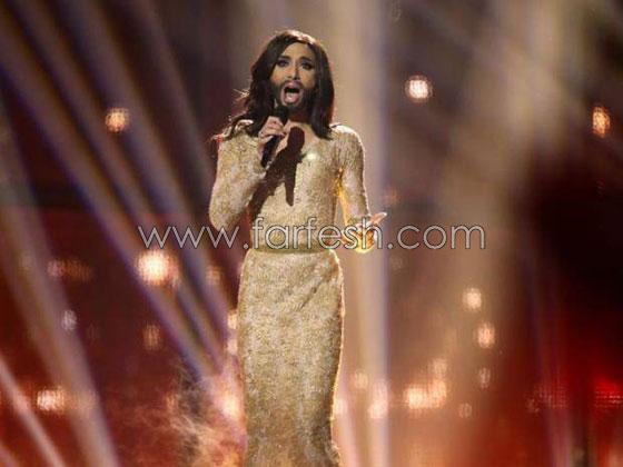 صورة رقم 7 -  المغنية الملتحية كونشيتا فورست: انا مصابة يالايدز وأتعالج منذ سنوات!