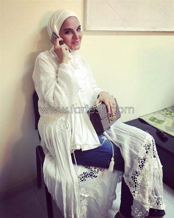 بالفيديو والصور.. الفنانة شيماء سعيد تظهر بالحجاب لأول مرة صورة رقم 3