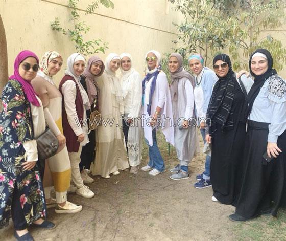 بالفيديو والصور.. الفنانة شيماء سعيد تظهر بالحجاب لأول مرة صورة رقم 4