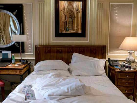 شاهدوا ما يتركه الضيوف بغرفهم في الفنادق.. صور صورة رقم 4
