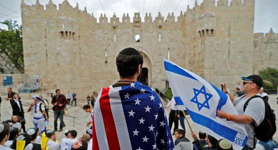 بالصور.. احتفلت اسرائيل وانتكبت فلسطين للمرة الثانية صورة رقم 5