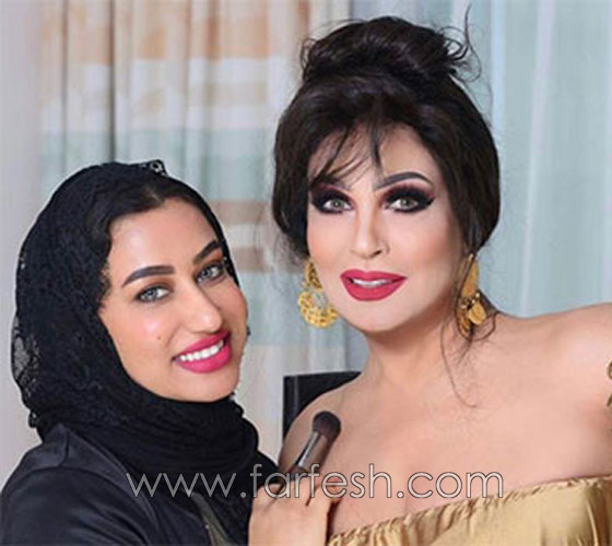 معقول يا فيفي عبده؟ صور الراقصة بالحجاب وفستان مكشوف وفوتوشوب مبالغ فيه!! صورة رقم 4