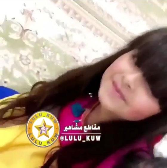 84cee3a38 صورة رقم 1 - بالفيديو: زوج أحلام يكشف للمرة الأولى عن وجه ابنتهما لولوة