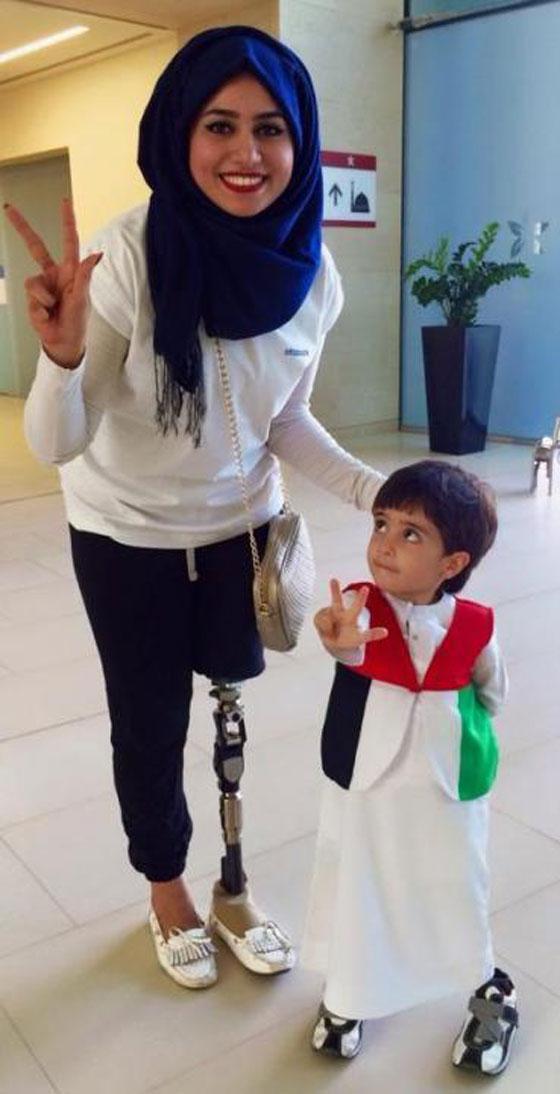 صورة رقم 5 - تعرفوا على الشابة العراقية التي تحدت إعاقتها بسبب دموع والدتها!