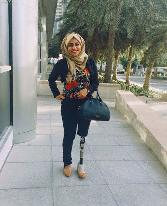صورة رقم 7 - تعرفوا على الشابة العراقية التي تحدت إعاقتها بسبب دموع والدتها!