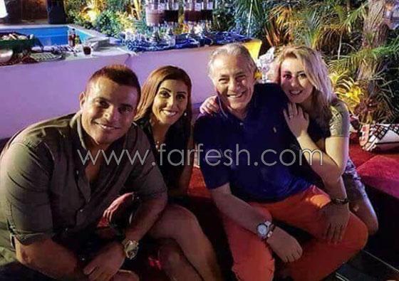 صورة رقم 1 - من الذي سرب صور جديدة لعمرو دياب ودينا الشربيني وقائمة المدعوين لزفافهما؟